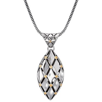 Ladies Two-Tone Necklace