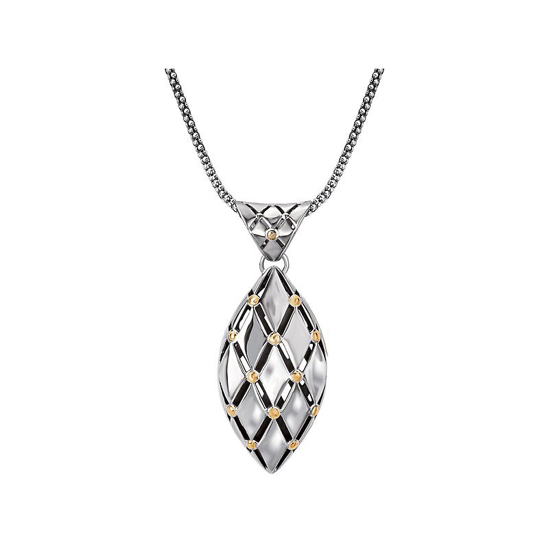 Eleganza Ladies Two-Tone Necklace