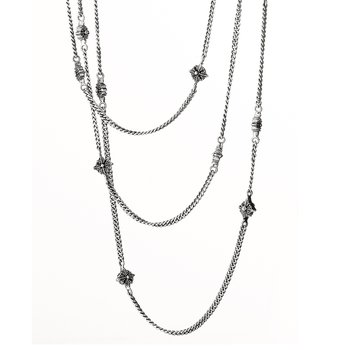 Jenny No-Stone Station Necklace