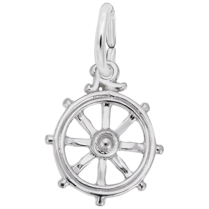 Rembrandt Charms Ships Wheel Charm