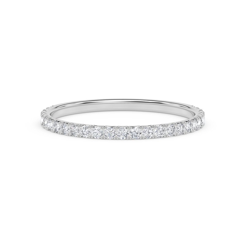 Forevermark Engagement and Commitment Pave Band