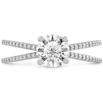 0.14 ctw. Camilla Split Shank Engagement Ring