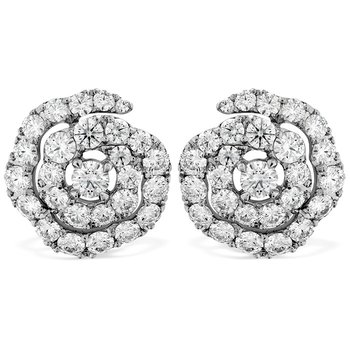 1.9 ctw. Lorelei Diamond Floral Earrings