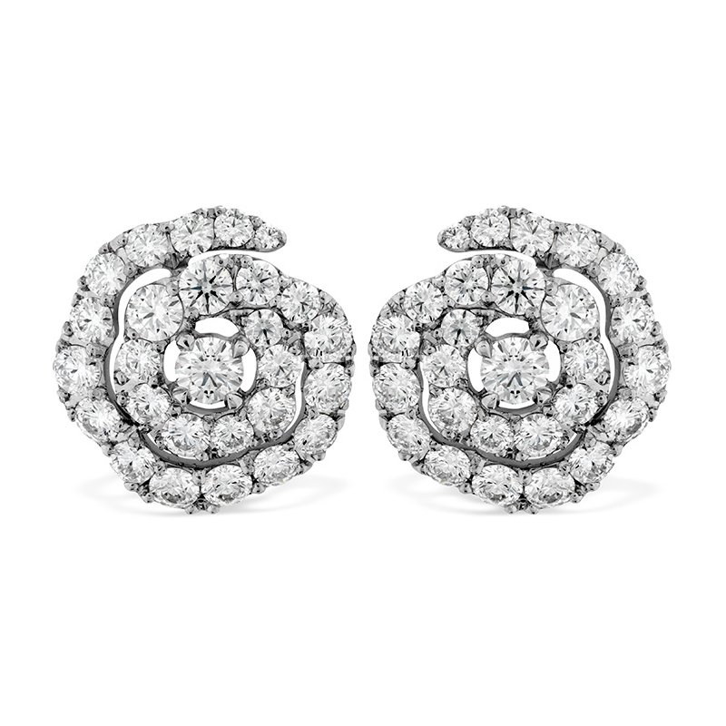 Hearts on Fire 1.9 ctw. Lorelei Diamond Floral Earrings