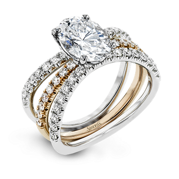 LR1083-OV WEDDING SET