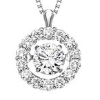 Rhythm of Love 14K Diamond Rhythm Of Love Pendnat 3/8 ctw