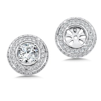 Diamond Earing Jacket ( .78 tw )