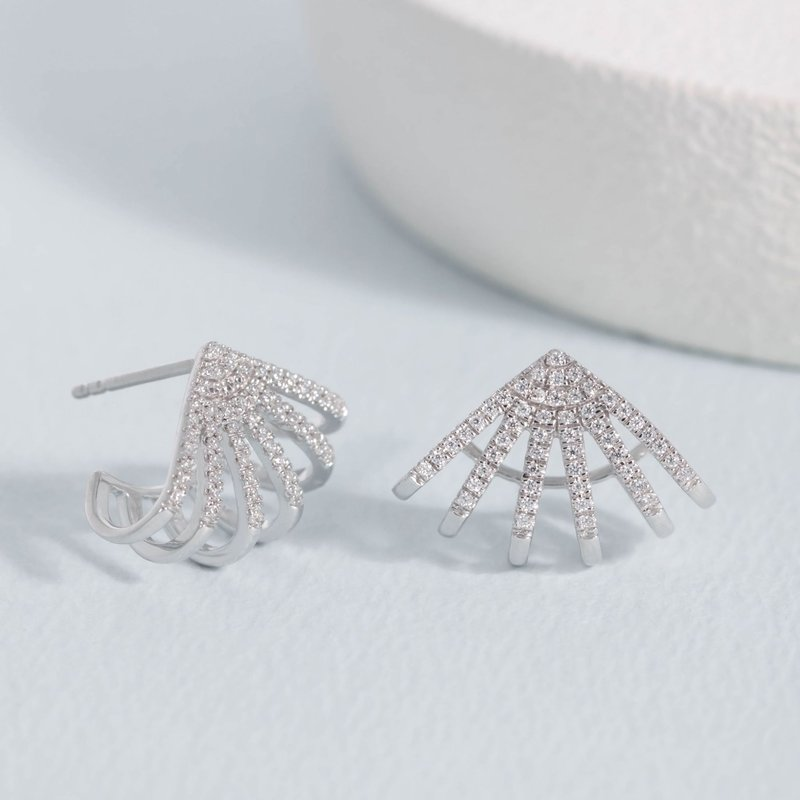 Ella Stein Branch Out Sterling Silver Earrings