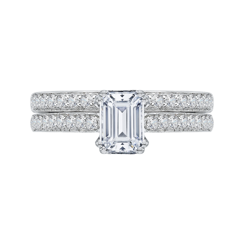 Promezza 14K White Gold Promezza Engagement Set