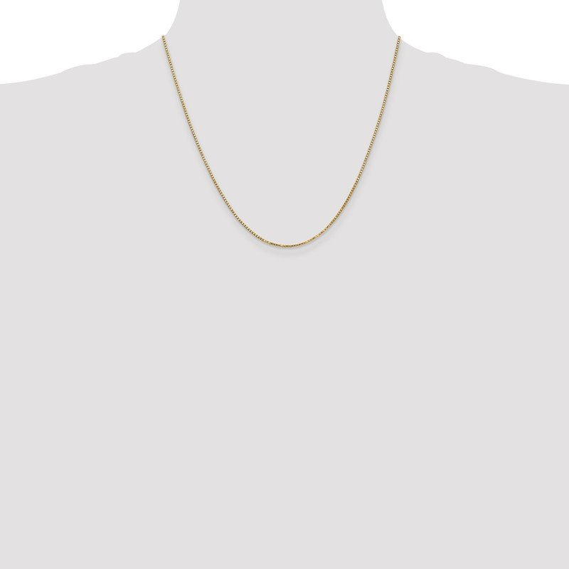 Quality Gold 10k 1.3mm Box Chain