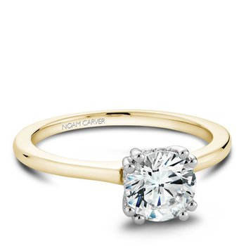 Noam Carver Modern Engagement Ring B004-04YWA