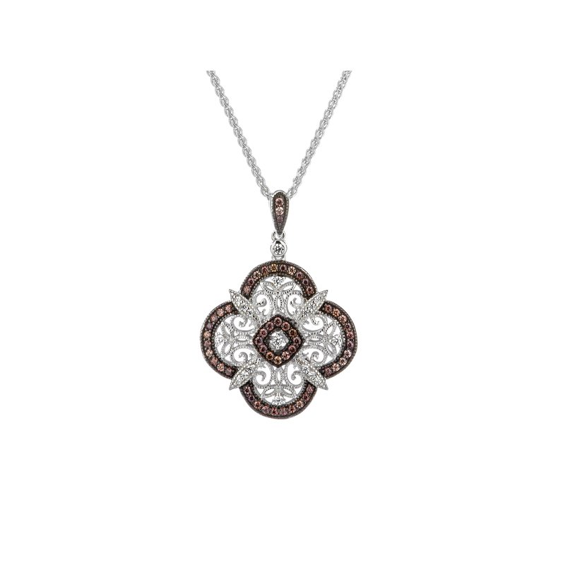 Keith Jack Night & Day Scalloped Pendant