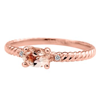 Forever Ice™  Morganite Ring
