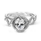 Simon G LP2304-OV ENGAGEMENT RING