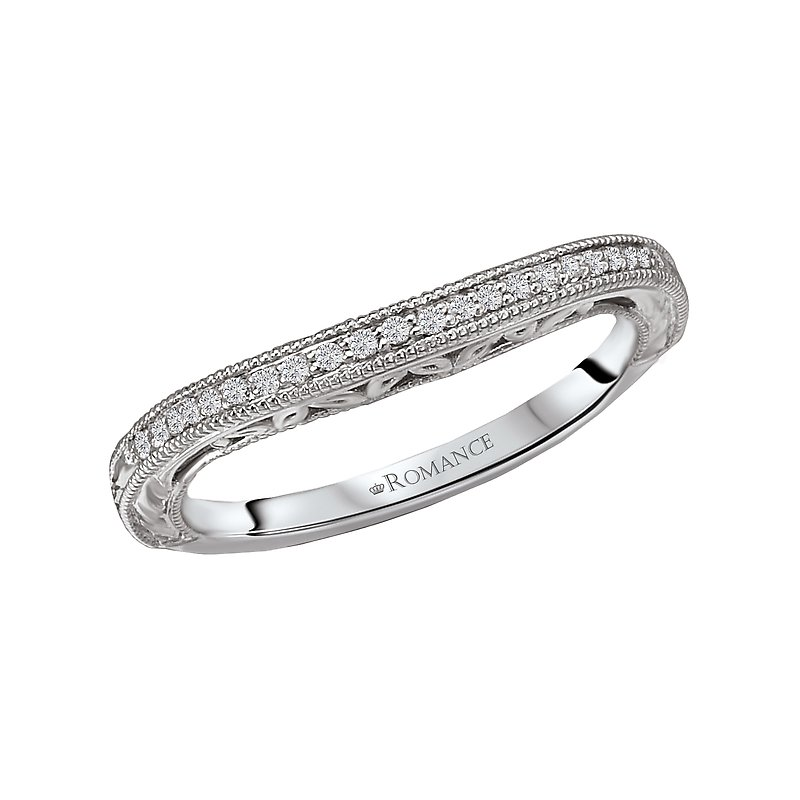Romance Curved Wedding Band