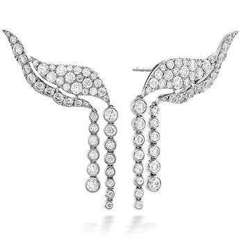 3.1 ctw. Lorelei Fringe Diamond Ear Cuff