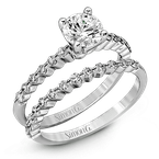Simon G MR2173-D WEDDING SET