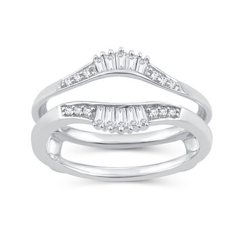 14K 0.26Ct Diamond Ring Guard