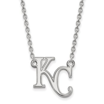 Sterling Silver Kansas City Royals MLB Necklace