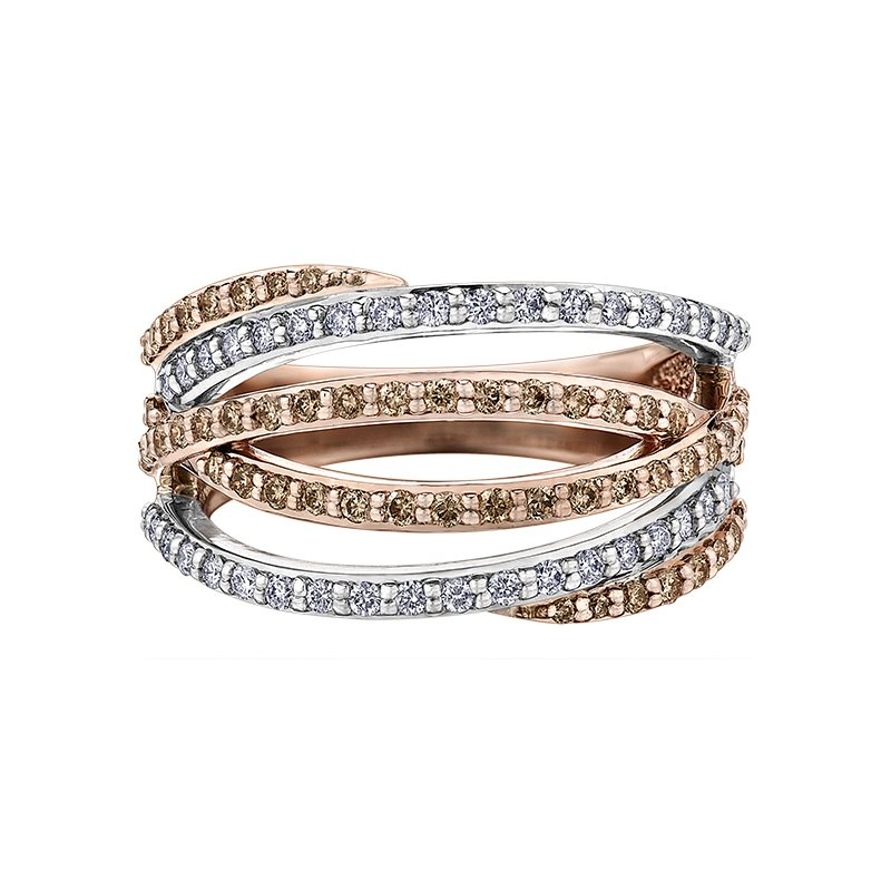Timeless Beauty Nat Brown Diamond Ladies Ring