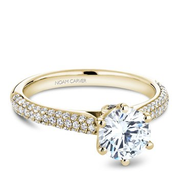 Noam Carver Vintage Engagement Ring B146-17YA