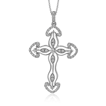 ZP763 CROSS PENDANT