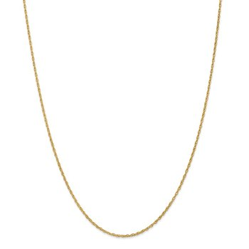 14k 1.3mm Heavy-Baby Rope Chain