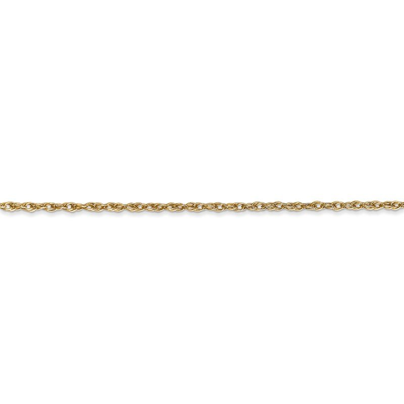 Quality Gold 14k 1.3mm Heavy-Baby Rope Chain