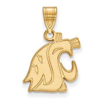 Gold Washington State University NCAA Pendant