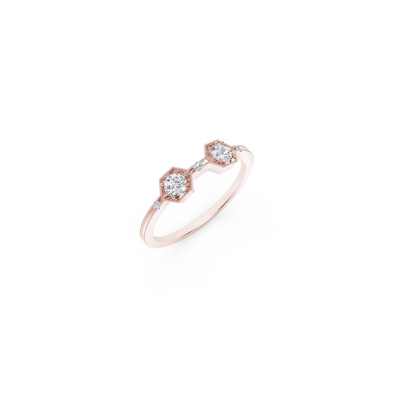 Forevermark Tribute Collection The Forevermark Tribute™ Collection Two Stone Diamond Ring