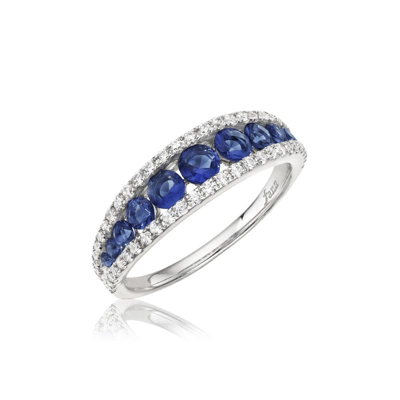 Fana Walk This Way Sapphire and Diamond Ring