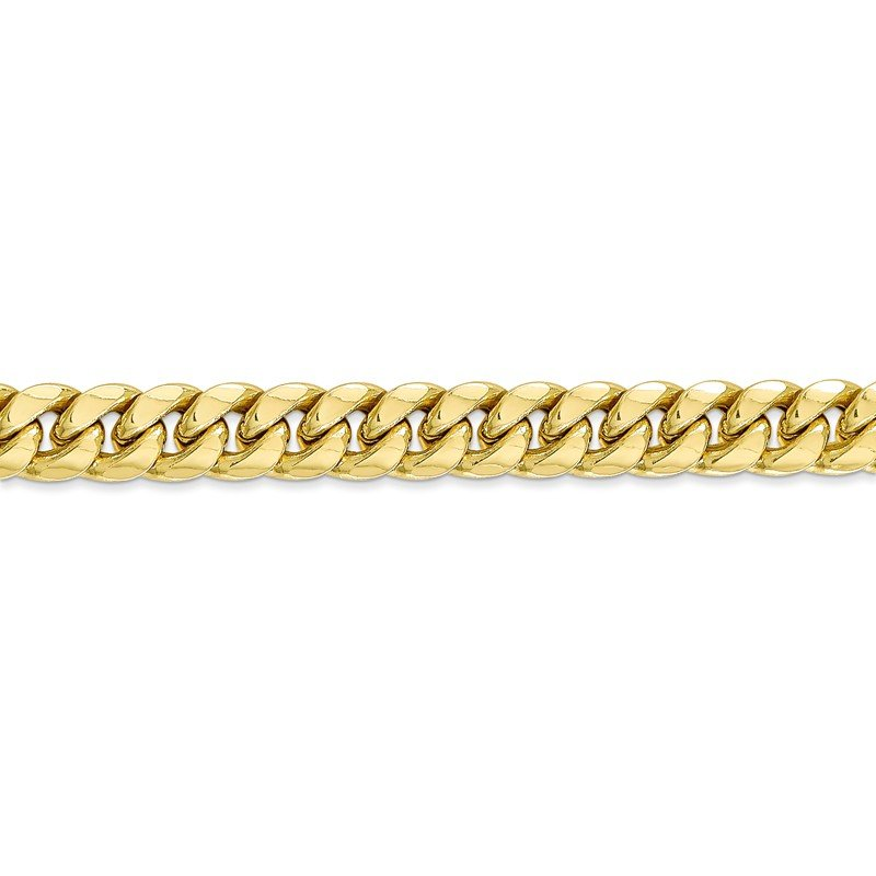 Leslie's Leslie's 10K Semi-Solid 7.3 mm Miami Cuban Chain