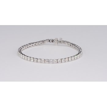 4.46 tcw. Diamond Tennis Bracelet