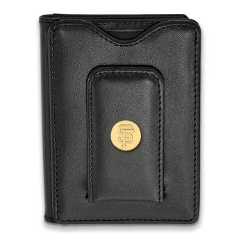 Gold-Plated Sterling Silver San Francisco Giants MLB Wallet