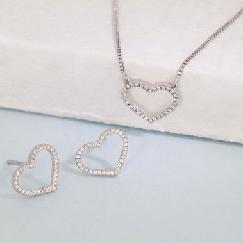 True Love Always Sterling Silver Gift Set