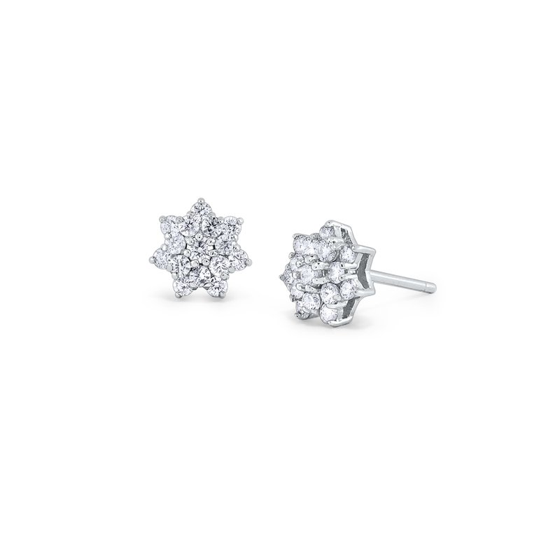 KC Designs 14K Diamond Stud Earrings