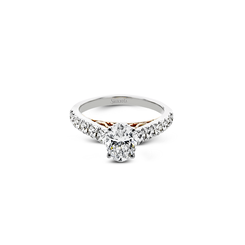LP2356-OV ENGAGEMENT RING