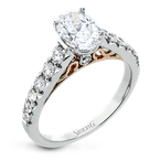 Simon G LP2356-OV ENGAGEMENT RING