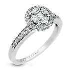 Zeghani ZR899 ENGAGEMENT RING