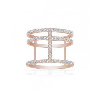 Pink Abstract Ring