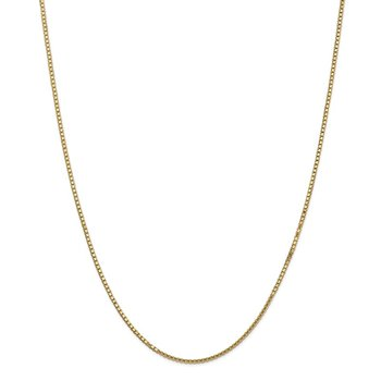 14k 1.5mm Box Chain