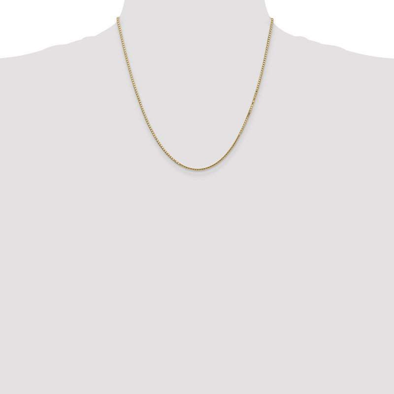 Quality Gold 14k 1.5mm Box Chain