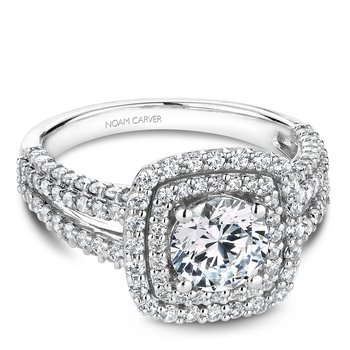 Noam Carver Modern Engagement Ring B173-01A