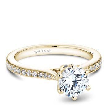 Noam Carver Vintage Engagement Ring B141-17YA