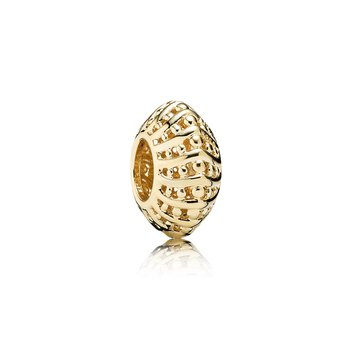 Mystic Serenity Filigree Spacer, 14K Gold