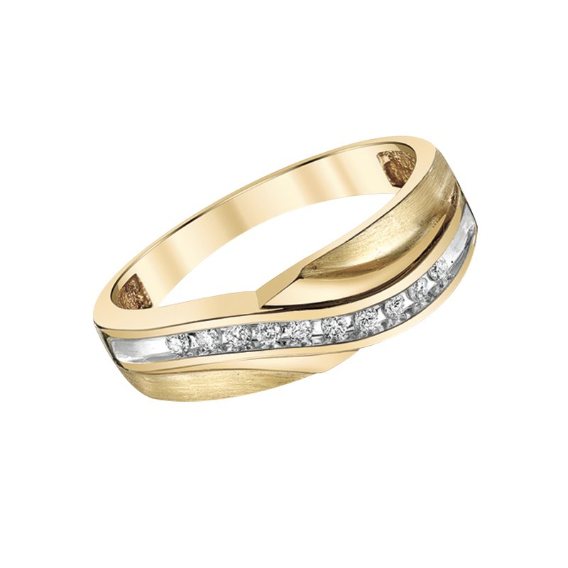 Two Hearts Wedding Band