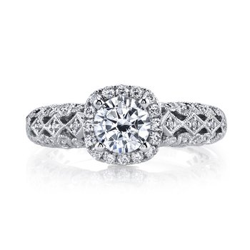 MARS 25826 Diamond Engagement Ring 0.30 Ctw.