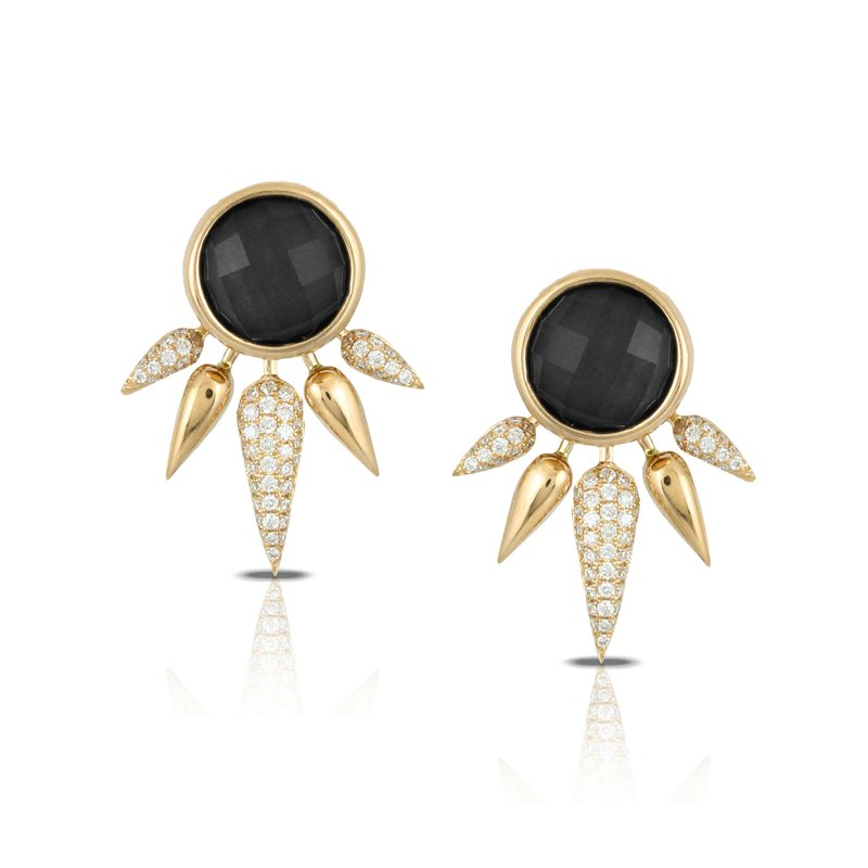 Doves Gatsby Dagger Earrings 18KY