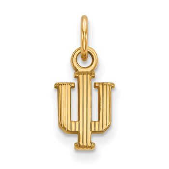 Gold Indiana University NCAA Pendant
