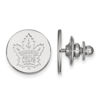 Sterling Silver Toronto Maple Leafs NHL Lapel Pin